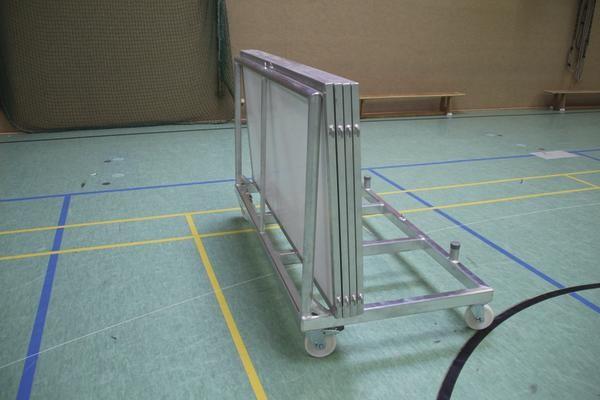 Transportwagen für Hallenfußballbande