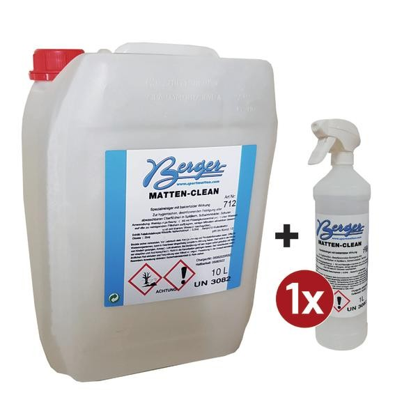 Mattenclean-Reinigungs-Set